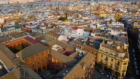 Panoramic of Seville Royalty Free Stock Image