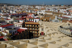 Panoramic seville from Parasol Stock Photos