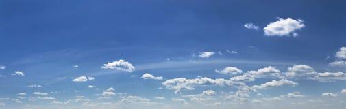 Panoramic sky Stock Photography