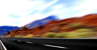 Panoramic  speed Stock Image