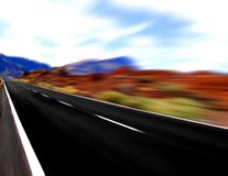 Panoramic  speed Royalty Free Stock Photos