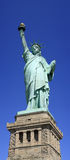 Panoramic Statue of Liberty Royalty Free Stock Photography