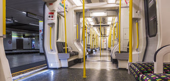Panoramic subway Royalty Free Stock Photo