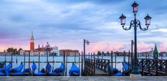 Panoramic sunrise Royalty Free Stock Photos