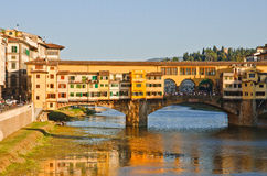Panoramic sunset view to Florence, Tuscany, Italy Royalty Free Stock Image