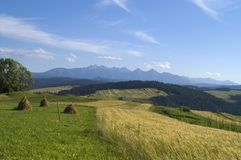 Panoramic Tatra Mountain Stock Photography