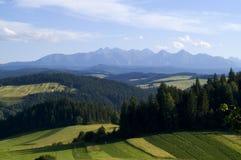 Free Panoramic Tatra Mountain Royalty Free Stock Photos - 2871598