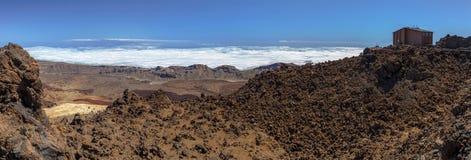Panoramic from Teide Stock Photos