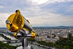 Panoramic telescope Royalty Free Stock Images