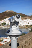 Panoramic telescope Royalty Free Stock Photography