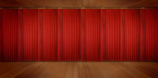 Panoramic Theatrical Stock Photo