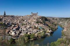 Panoramic of Toledo Royalty Free Stock Photos