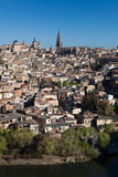 Panoramic of Toledo Royalty Free Stock Image