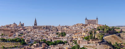 Panoramic of Toledo Royalty Free Stock Images