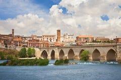 Panoramic of Tordesillas Royalty Free Stock Photos