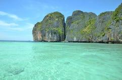 Tropical island Ko Phi Phi Lee Stock Images