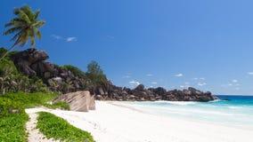 Panoramic tropical seascape Stock Photo