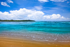 Panoramic tropics Stock Photography