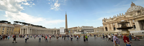 Panoramic Vatican Royalty Free Stock Photos