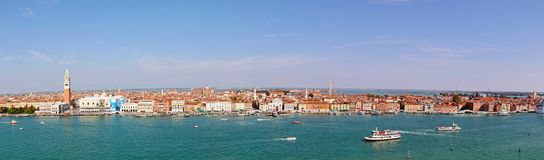 Panoramic Venice Stock Images