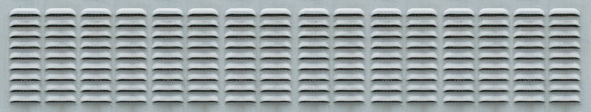 Panoramic Ventilation Grill Royalty Free Stock Photography