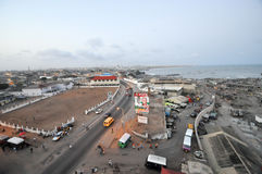 Panoramic View of Accra, Ghana Stock Photo