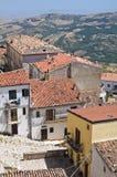 Panoramic view of Acerenza. Basilicata. Italy. Royalty Free Stock Photo