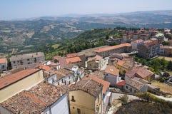 Panoramic view of Acerenza. Basilicata. Italy. Royalty Free Stock Images