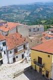 Panoramic view of Acerenza. Basilicata. Italy. Royalty Free Stock Image