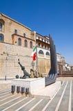 Panoramic view of Acerenza. Basilicata. Italy. Stock Photography