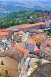 Panoramic view of Acerenza. Basilicata. Italy. Stock Image
