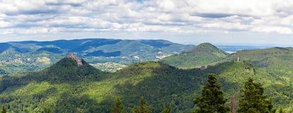 Panoramic view Stock Photo
