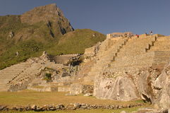 Panoramic view of agricultural area, Machu Picchu Stock Photography