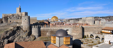 Panoramic view of Akhaltsikhe Castle. Stock Photography