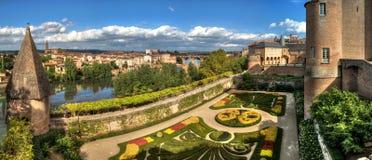 Panoramic view of Albi - Tarn - France Royalty Free Stock Image