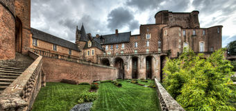 Panoramic view of Albi - Tarn - France Royalty Free Stock Photography