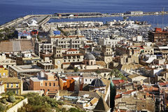 Panoramic view of Alicante. Spain Royalty Free Stock Images