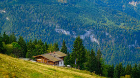 Panoramic view of the Alps 4 Stock Image