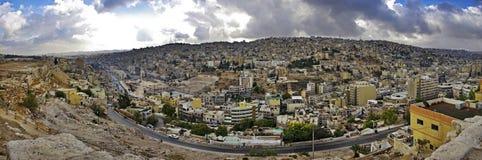 Panoramic view of Amman. Jordan. stock photo