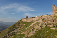 Panoramic view of amphitheater 1 Royalty Free Stock Photo