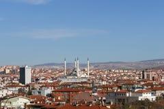 Panoramic view of Ankara Stock Photos