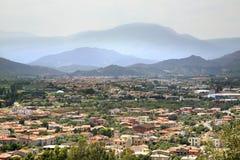 Panoramic view of Arbatax. Sardinia. Italy Stock Images