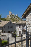 Panoramic view of Assisi. Umbria. Royalty Free Stock Images