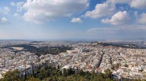 Panoramic view of Athens, Greece Stock Photo