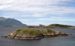 Panoramic view at Atlantic roa Royalty Free Stock Image