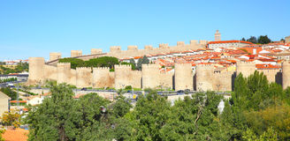 Panoramic view of Avila Royalty Free Stock Images