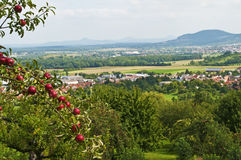 Panoramic view in Baden-Wuerttemberg,Germany Royalty Free Stock Image