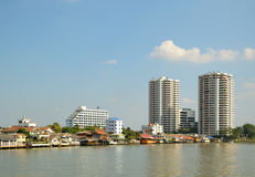 Panoramic view of Bangkok Stock Photos