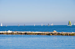 Panoramic view of Bari. Puglia. Italy Stock Photography