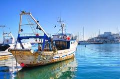 Panoramic view of Bari. Puglia. Italy Stock Image